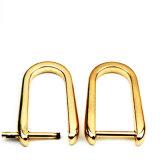 A curvatura quente do anel-D da liga do zinco do metal da venda para o saco parte os acessórios dos bens do couro de sapatas da curvatura de correia (BL2211)