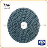6 인치 150mm 화강암 대리석 도와 성격 돌 등등을%s 젖은 다이아몬드 닦는 패드 다이아몬드 공구