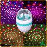 A iluminação das lâmpadas de LED E27/B22 Crystal Magic Ball Estágio de Controle de Voz da lâmpada LED lâmpada LED luzes de LED