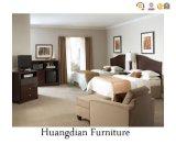 Conjuntos de madera de los muebles del dormitorio del hotel de la antigüedad caliente de la venta (HD035)