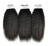 Peruanisches verworrenes gerades unverarbeitetes Jungfrau-Haar für persönlichen Gebrauch (Grad 9A)