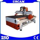 真空表が付いている家具の木工業の切断の彫版CNCのルーター機械