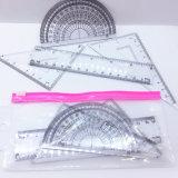 School Stationery Ruler Set, Drawing Set, Stationery Set for Student/School/Teaching
