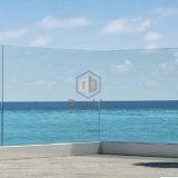 دار منزل شرفة [أو] قناة زجاجيّة درابزين/فولاذ زجاج درابزون