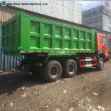 Rear Tipping Dump Truck HOWO Trolley Tipper Truck