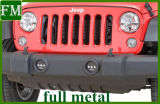 High-Power negro LED luces de niebla para Jeep Wrangler 07-15