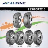 Excelente resistência ao desgaste de pneus de caminhão de ombro mais forte 385/65/22,5 315/80R22.5 295/80R22.5 11R22.5