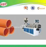 extrudeuse à double vis du tuyau en PVC pour profil parallèle