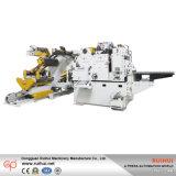 Servo bobina di Nc che raddrizza la macchina dell'alimentatore del rullo con Uncoiler (MAC4-800H)