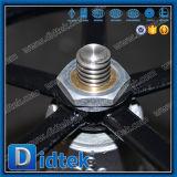 Válvula de puerta manual del acero inoxidable del borde confiable del surtidor de Didtek