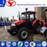 판매 또는 굴착기 부착 콤팩트 트랙터 또는 농업 트랙터 또는 농업 기계 농업 트랙터를 위한 농업 기계장치 장비 100HP 4WD 농장 트랙터