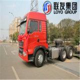 Sinotruk HOWO T5g 6X4 트랙터 트럭 유로 3
