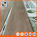 La mirada de madera fácil limpia el suelo plástico reciclado