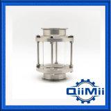 Het sanitaire Tubulaire Glas van het Gezicht van de Klem van het Roestvrij staal