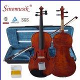 Antique Violin with Violin Rosin 1/2 Size Advanced Violin
