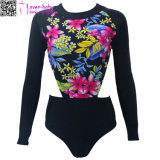 Het lange Verwijderde Surfen Swimwear L32604 van de Koker Florals