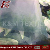 Planície impresso têxtil de poliéster 100% poliéster tecido organza