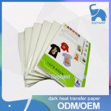 Papel de transferencia de papel de aluminio de alta calidad A3 utilizado para la camiseta