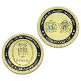 Монетка возможности сувенира серебра эмали высокого качества