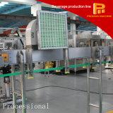 Bebidas carbonatadas en botella plástico automático que llenan la cadena de producción
