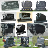 European Customized Carving Granite Cross Tombstone / Monumento / Headstone