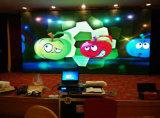 Étalage visuel polychrome d'intérieur de la publicité d'écran du mur DEL de P3 P4 P5 P6 P7.62