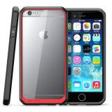 El TPU Bumper acrílico claro Celular caso para el iPhone 6plus