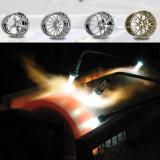 높은 각측정속도 아크 살포 코팅 기계 아연/알루미늄 단단한 금속 합금 도금 장비 차 허브 바퀴/LED 동위 반사체 창틀