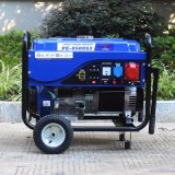 Bison (China) BS6500p (M) 5000W 5kVA Potência móvel doméstico Air-Cooled Gasolina gerador de 5 kw do consumo de combustível