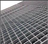 Reja serrada barra galvanizada sumergida caliente de la calzada de la plataforma del suelo