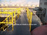 FRP/GRP leuning, de Vierkante Buis van de Glasvezel van Profielen FRP, Pultrusion Profielen