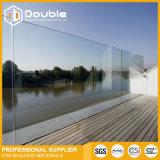 Rete fissa di inferriata di vetro di Frameless per la piscina, il balcone o la spiaggia