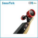 [سمرتك] جديدة 4 عجلات لوح التزلج كهربائيّة خشبيّة [جروبود] مع [رموت كنترول] لوح [إلكتريك-ميني-لونغ] [س2ا]