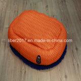 زرقاء ليّنة دافئ محبوب سرير كلب قطار [بدّينغ] منزل وسادة