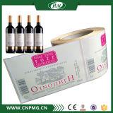 Étiquette adhésive de collant de bouteille de vin de bière d'impression
