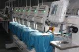 Holiauma最もよいQuanlity 15は6ヘッド企業の刺繍機械をTシャツの刺繍の高速刺繍機械機能のためにコンピュータ化されて着色する