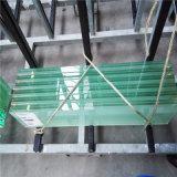 Покрашенный Railing/загородки прокатанного стекла PVB на эскалаторе/балконе/лестнице