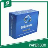 Papel de color azul correo cartón para el envío