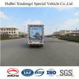 Vrachtwagen van de Reclame van Foton van Euro4 de Mobiele met Goede Kwaliteit