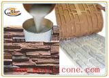 Muffa di pietra concreta che fa la gomma di silicone