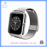 Moda Andriod Metal Sport Smart Watch com monitoramento de saúde Bluetooth Phone Call