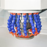 Máquina de cristal triaxial horizontal del ribete del CNC para el vidrio auto