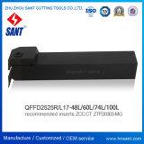 Держатель Qffd2525r17-100L резца для проточки канавок Zhuzhou Sant Toolholder поверхностный сопрягал вставки Ztfd0303-Mg