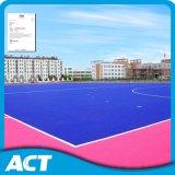 Hierba artificial del hockey superficial liso durable aprobada por la federación internacional del hockey