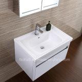 ライトが付いている白いカラーステンレス鋼の浴室の虚栄心のキャビネット