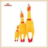 Giocattolo del cane del pollo di Shrilling del vinile del giocattolo dell'animale domestico (KB1042)