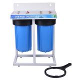 Filtre d'eau de 2 Grands bleus d'étape avec l'étagère en acier