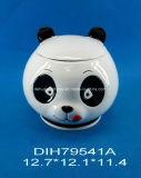 Vaso Panda-A forma di di ceramica dipinto a mano di memoria