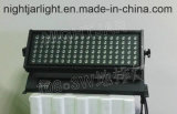 rondella variopinta esterna Nj-L108A della parete dell'indicatore luminoso LED della lavata della parete 108PCS