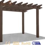 Quente vendendo o Pergola ao ar livre barato personalizado da madeira de Foshan do jardim